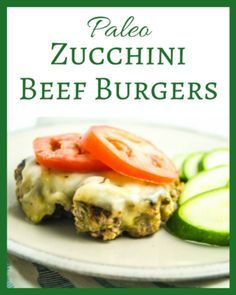 This recipe for paleo zucchini beef burgers is healthy and delicious! Serve this tasty burger on a salad for a low-carb, gluten-free meal fit for a king or queen.