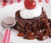 Brownies aux amandes et fudge chaud à la mijoteuse Moussaka, Dessert Buffet, Fudge, No Cook Meals, Slow Cooker Recipes, Crockpot, Panna Cotta, Waffles, Sweet Tooth