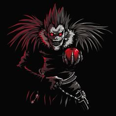 Tee shirt Ryuk, Dessin parodie de Death Note et du Shinigami