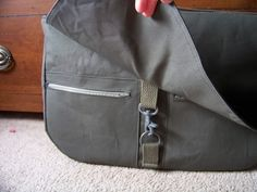 Awesome Messenger Bag (major pics!) Plus TUTORIAL :)  I need to make this... and customize it... and wax it into permanent durability