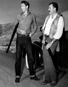 Gary Cooper and Ernest Hemingway