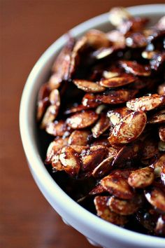 Sweet & Salty Roasted Pumpkin Seeds