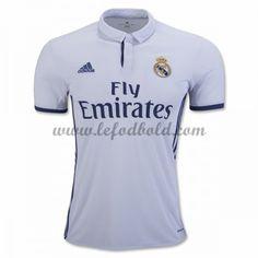 Billige Fodboldtrøjer Real Madrid 2016-17 Kortærmet Hjemmebanetrøje