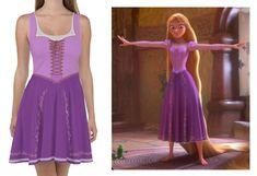 Rapunzel Inspired Dress Disney Divas, Disney Outfits, Rapunzel, Skater Dress, Cosplay, Inspired, Dresses, Fashion, Vestidos