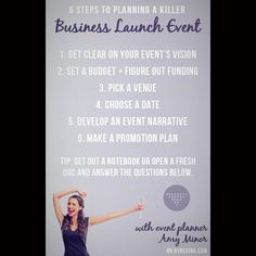 How to Plan a Killer Business Launch Event (in 6 steps) http://byregina.com/killer-business-launch/ ********************************************* #corporateentertainers #corporatemagicians #corporatebostonmagicians #bostonentertainers #davechandler #closeupshow #revueshowsentertainers #theatershowsentertainers #germanmagiccircle #massachusettsmagician #massachusetts #boston #newhampshire #nashuamagician