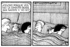 jajaja #Mafalda #Guille #Quino