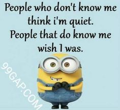 Joke Funny Minion Quote More MoreFunny Minion Joke Funny Minion Quote More More Best Ever Minion Quotes Collection 40 Funniest Minion Quotes and Sayings Memes Minion Quotes Brain Funny Motivational Poster Sarcastic Pictures, Funny Minion Pictures, Funny Minion Memes, Sarcastic Jokes, Minions Quotes, Minion Humor, Cute Minion Quotes, Funny Jokes, Humorous Pictures