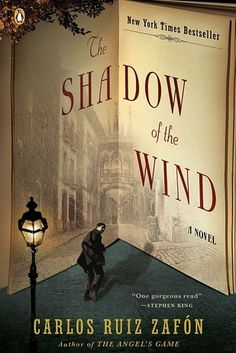 The Shadow of the Wind by Carlos Ruiz Zafón | 29 Books You Should Definitely Bring To The Beach This Summer