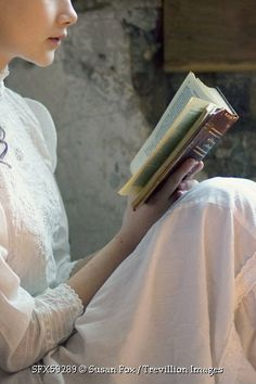 Trevillion Images - historical-girl-reading-book