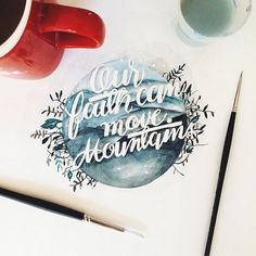 Beautiful Watercolor Quotes by June Digan