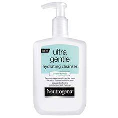 Neutrogena Ultra Gentle Hydrating Cleanser, $9.49; neutrogena.com This cleanser is gentle enough to ... - Photo courtesy of Manufacturer