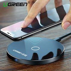 UGREEN Wireless Charging Pad for Samsung and iPhone 8/X/8Plus