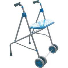Ayudas a la Movilidad con Asiento y Ruedas Delanteras    El Andador de alumnio con asiento PRIM se adapta a las limitaciones de movilidad de las personas.   Dispone de una amplia variedad de modelos (...