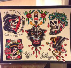 Mandala Tattoo Design, Tattoos Mandala, Tattoos Geometric, Traditional Tattoo Sketches, Traditional Tattoo Old School, Traditional Style Tattoo, Traditional Flash, American Traditional, Body Art Tattoos