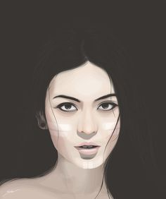Digital Portraits by Yuschav Arly