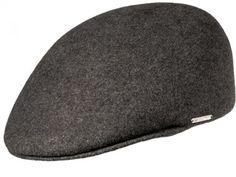 Diese legere Schirmmütze ist unter verschiedenen Namen bekannt; als Flatcap, Sportmütze, Schiebermütze und Casquette. Erhältlich in drei Farben, aus Wollfilz in Merino Qualität, Burmenta-Metallplakette. Hut sorgt für ideale Temperaturen bei sportlichen und Freizeit- Aktivitäten.