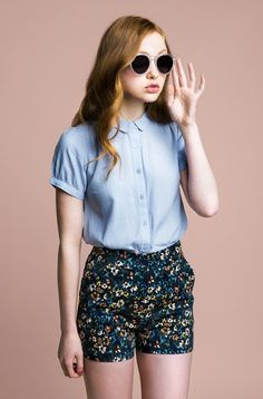 Shorts office look vintage summer outfits, retro outfits, hipster outfits, Mode Outfits, Short Outfits, Spring Outfits, Casual Outfits, Girl Outfits, Spring Shorts, Hipster Outfits, Korean Outfits, Fashion Mode