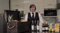 Michael Stringer of Hire The Barman creates the Aldiki for Aldi Superstore
