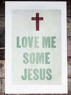 Love Me Some Jesus - Old Try - ´X°