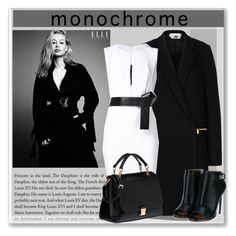 """""""Contest: make it monochrome"""" by oleahg ❤ liked on Polyvore featuring STELLA McCARTNEY, KaufmanFranco, Miu Miu, Givenchy and monochrome"""