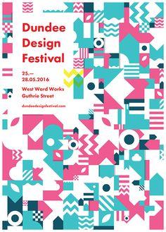 Dundee Design Festival #design #color