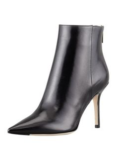 88eaec23590064 Jimmy Choo Amore Pointed-Toe Ankle Boot