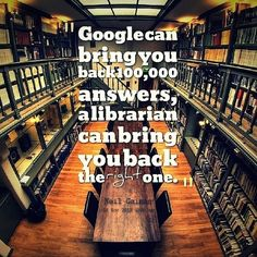 Librarians or Google. Which has the right answer?