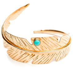 Ibis Cuff with Turquoise