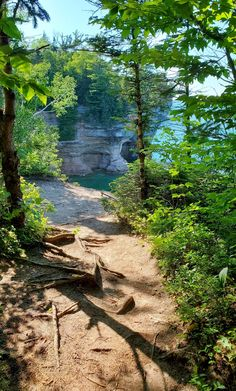 michigan hiking trails. things to do in michigan. upper peninsula, up north. midwest road trip. lake superior. national park vacation. pictured rocks national lakeshore. great lakes vacation. adventure travel vacation ideas. usa travel destinations. united states. america. Michigan Vacations, Michigan Travel, Vacation Trips, Vacation Ideas, Backpacking Trails, Hiking Trails, States America, United States, North Country Trail