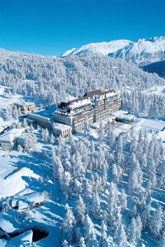 Hotel Villa Honegg, Switzerland by Jestico+Whiles Architects.
