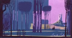 "Eyvind Earle ""Sleeping Beauty"""