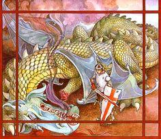 trina schart hyman saint george and the dragon - Pesquisa Google