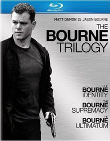 The Bourne Identity  The Bourne Supremacy  The Bourne Ultimatum, my absolute fav series of movies!!! <3