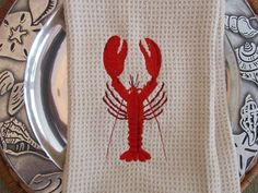 lobster kitchen hand towels #JoesCrabShack
