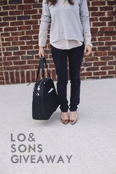 Lo & Sons OG bag } giveaway via @Anna @ IHOD