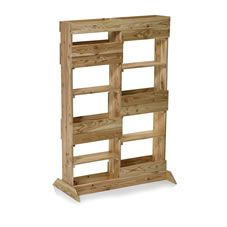 Rawlinson Garden Products Wooden Plant Stand Vertical Natural. £49