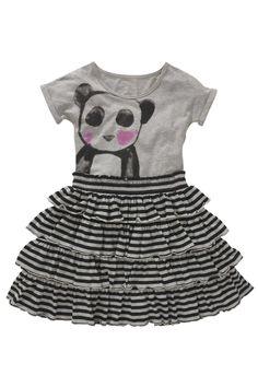 Buy Grey Panda Dress (3-16yrs) from the Next UK online shop