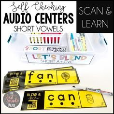 Scan and learn audio