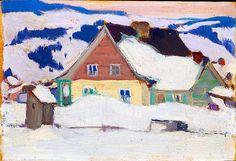 Baie St. Paul, 1924 Clarence Gagnon