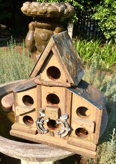 Rustic bird house for Sharon in the Cape