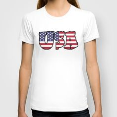 USA Stars & Stripes T-shirt