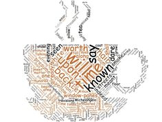 """Prufrock Word Cloud, from Sandra Heska King's """"Committing Prufrock"""" poetry dare and her advice for 6 Great Ways to Memorize a Poem!"""