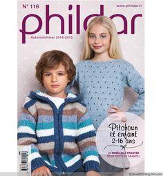 Phildar №116 2014-2015 - 紫苏 - 紫苏的博客