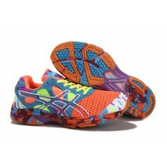 df523ab8f8 JX16 Zapatillas Asics Gel-Noosa Tri 7 Hombre Naranja Azul-Blanco Kd  Basketball Shoes