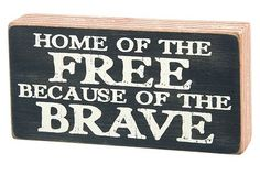 Home of the free.