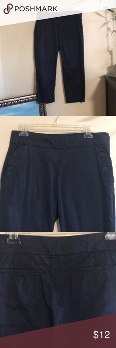 Navy Capri Be sure to check out my love notes and bundle deals! Sandro Pants Capris