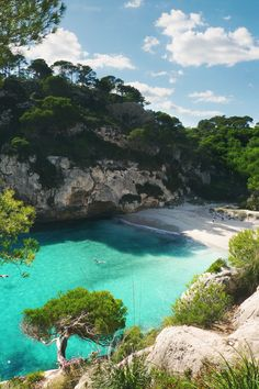 Menorca, Spain --> The farthest back that my family has been able to trace our ancestry is to this beautiful gem of a place. It is at the tippy top of my dream destinations. When my great-aunt went, she said she kissed the ground and felt the spirit of our ancestors in her. I'm ready to feel that.