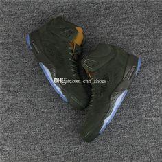 8b91e683815 All Black High Quality 5 Mens Basketball Shoes Army Green V Prm Take Flight  Bordeaux Metallic