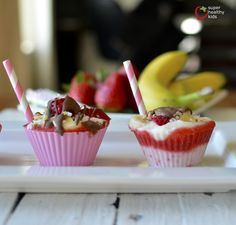 Healthy Banana Split Freezer Bites | Healthy Ideas for Kids