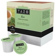 Keurig K-Cup Tazo Zen Green Tea,16-Pack